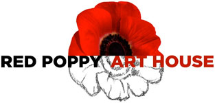 red poppy art house
