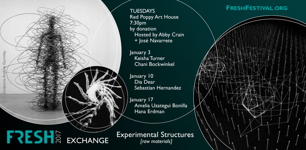 FRESH Exchanges: Experimental Structures Tues, Jan 17 @ 7:30PM