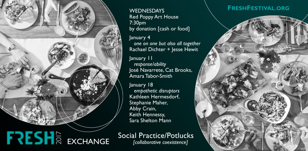 FRESH Exchanges: Social Practice/Potluck