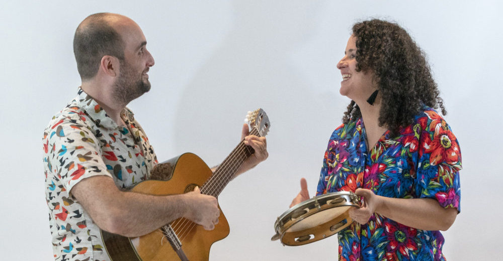 Benji & Rita: Brazilian, Jazz & Classical Traditions – Red Poppy Art